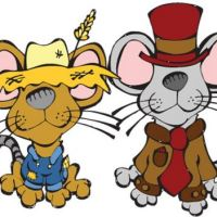 COUNTRY MOUSE AND CITY MOUSE
